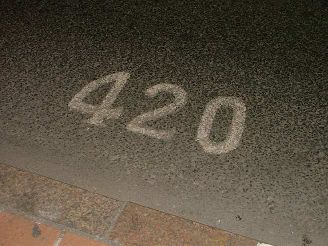 420 Bus stop