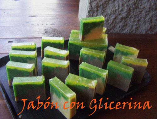 Jabones naturales inalen aqu uno con agregado de jabon - Jabon de glicerina casero ...