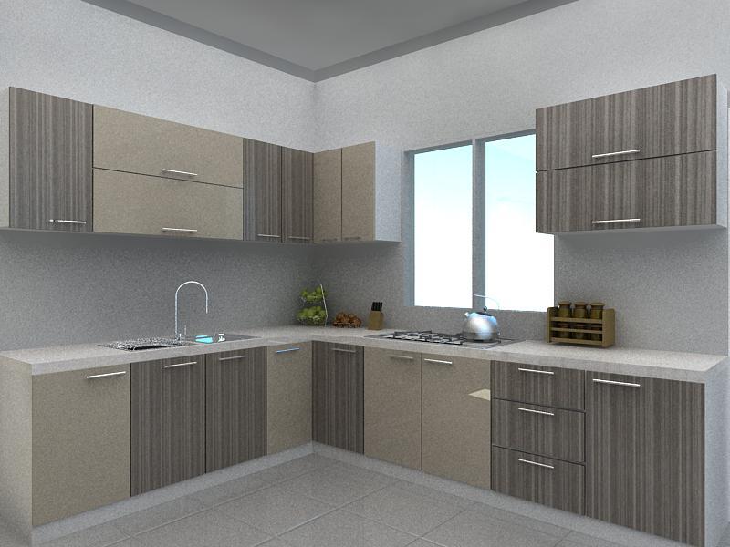 Rekadecor Interior Kitchen Cabinet Design