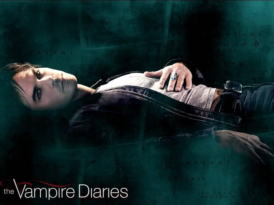 vampire diaries wallpaper damon and. vampire diaries wallpaper