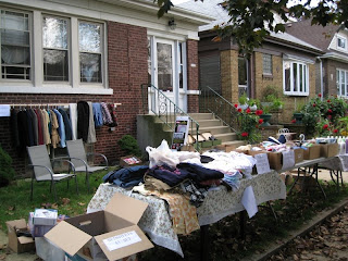 First Yard Sale Ever