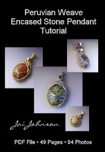 Peruvian Weave Encased Stone Pendant Jewelry Tutorial