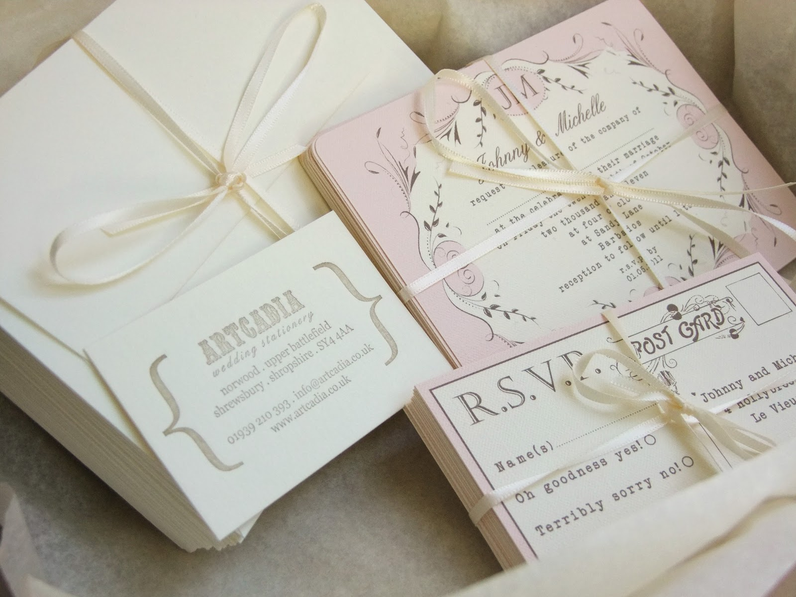 Wedding Stationery | Romantic Decoration