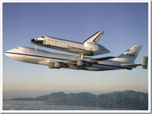 transbordadores espaciales