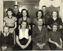Karl & Cree Probst Family, 1947        Midway, Utah, USA