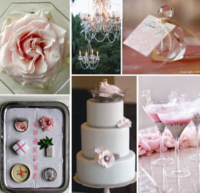 Pink Bridal Shower Ideas on Pink   Gray Couples  Shower