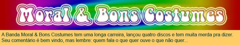 Blog da Banda Moral & Bons Costumes