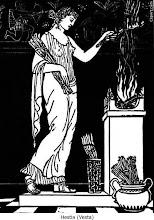 Hestia la diosa del fuego del hogar