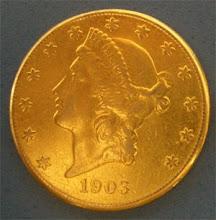 El primer dolar de oro