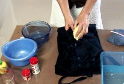 Como remover manchas das roupas