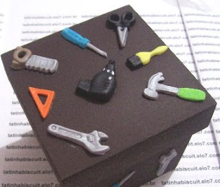 caixa de ferramentas presente para namorado