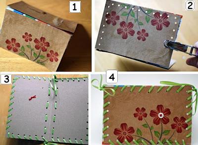 cartão material reciclável