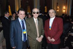 Cu domnul Mircea Ionescu Quintus si Traian Popa
