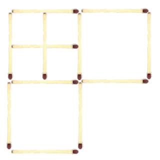 Siete cuadrados