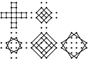 Todos los cuadrados