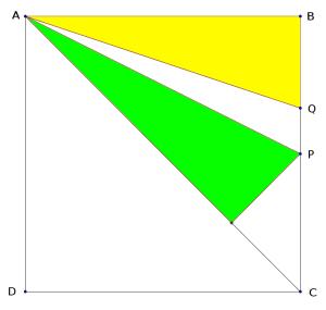 Encontrando ángulos iguales