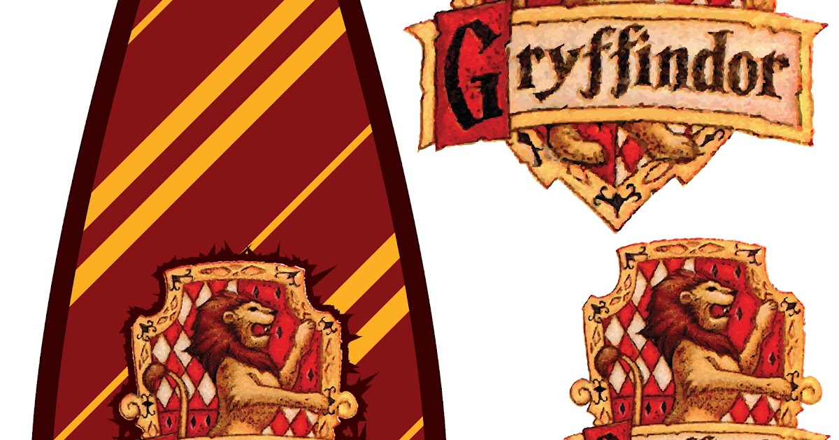 how to make a gryffindor tie out of paper