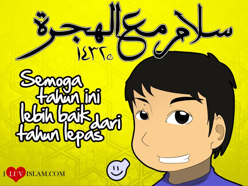 wallpaper kartun muslim. wallpaper kartun comel.