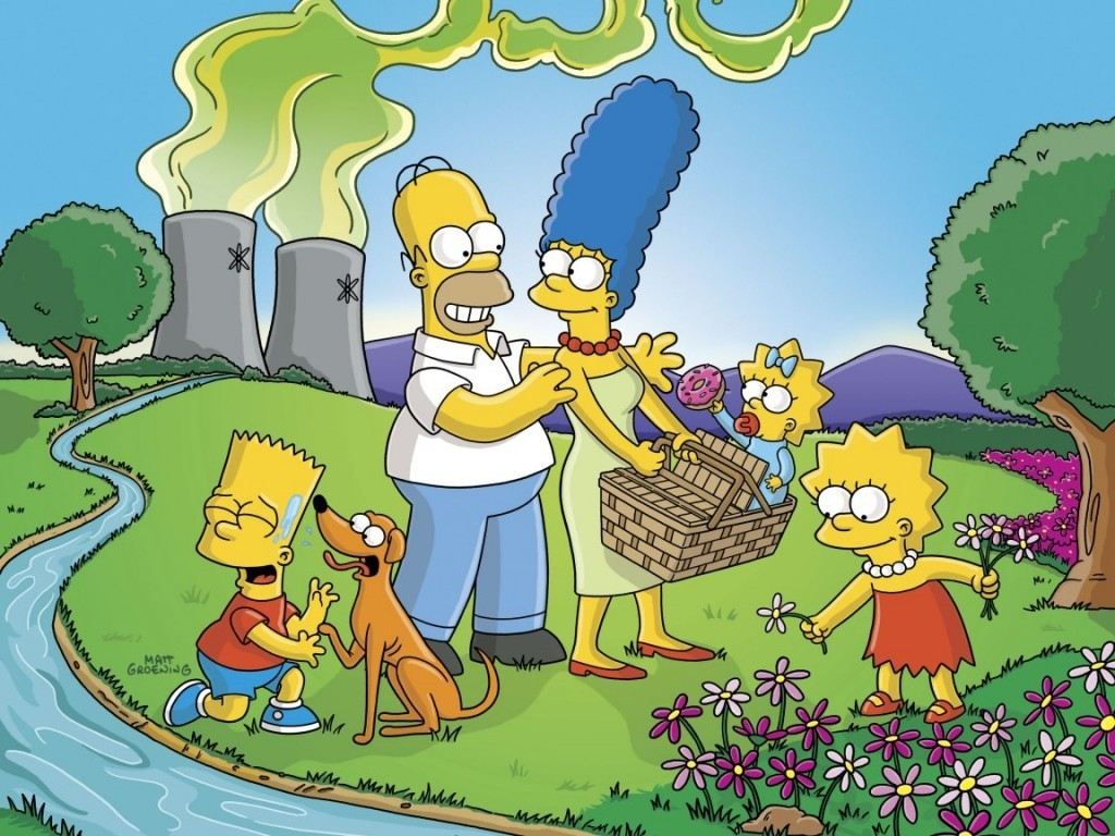 The Simpsons Cartoon