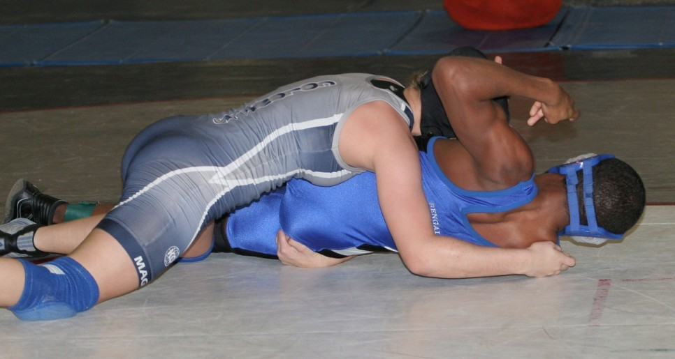 Men Wrestling Women