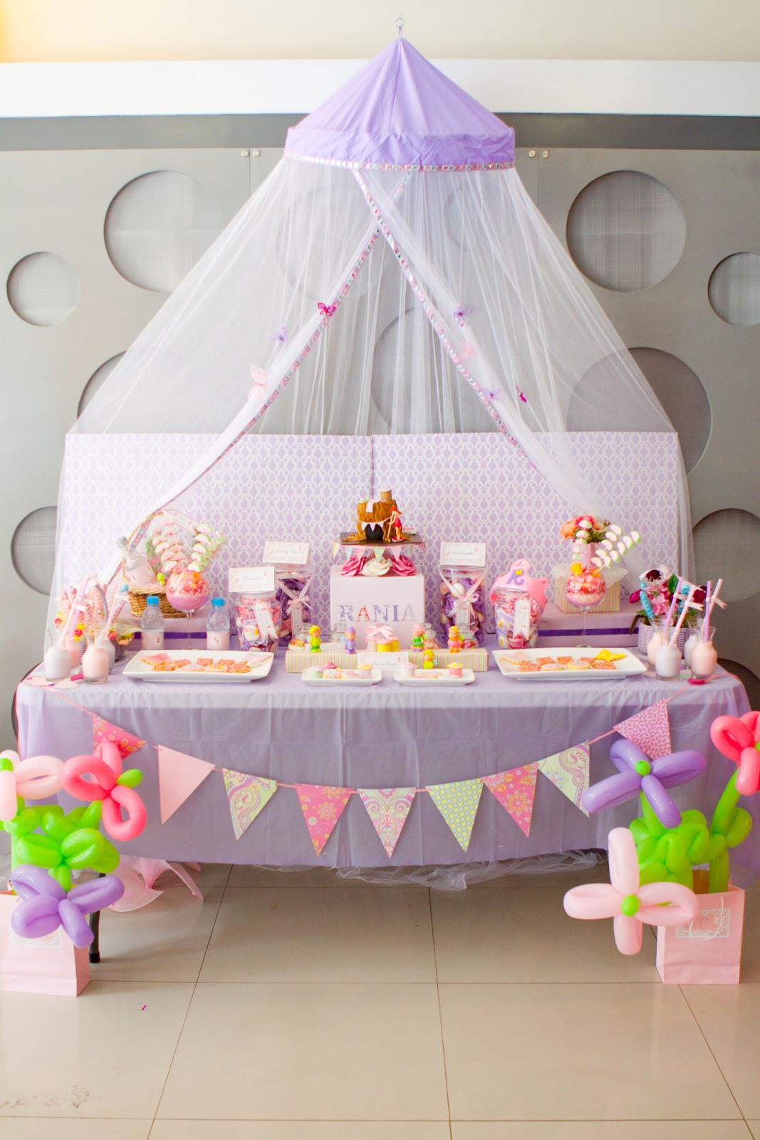 Pure Joy Events Link Party Showcase Fairies and Butterflies & Princess Birthday Cake Table ~ Image Inspiration of Cake and ...