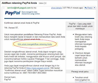 PayPal+5 Cara Membuat Rekening PayPal 100% Gratis