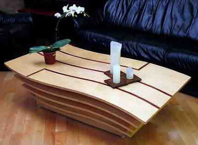 Curvaceous Modern Coffee Table