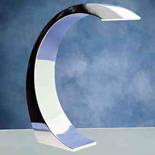 curvaceous lumi element touch table lamp