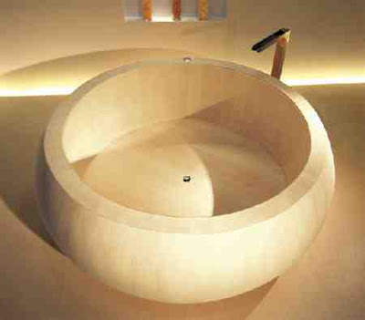 Curvaceous Swedish Bathtub