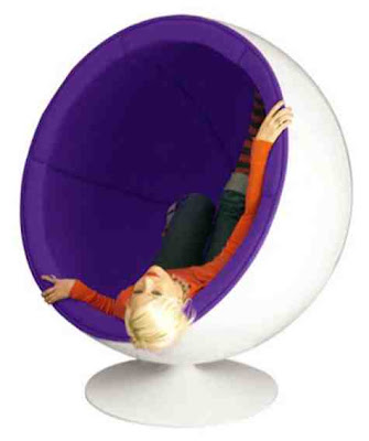 Ball Chair Modern Furniture by kitsch design