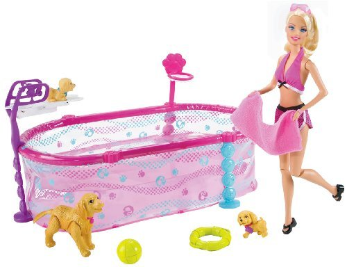 Max 39 S Dog Training Books Videos And Other Information Barbie Puppy Swim School Pool