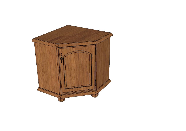 Classic Cabinet Sketchup Furniture Models