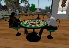 at Starbucks Coffee in second life