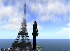 Paris in second life