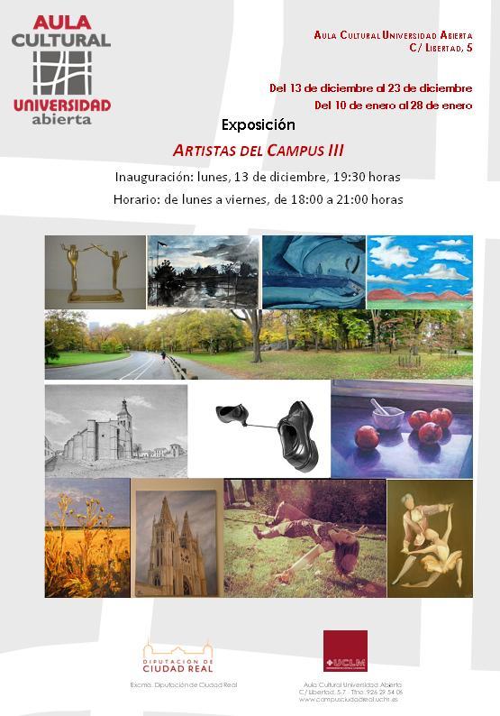 """III Edición """"Artistas del Campus"""""""