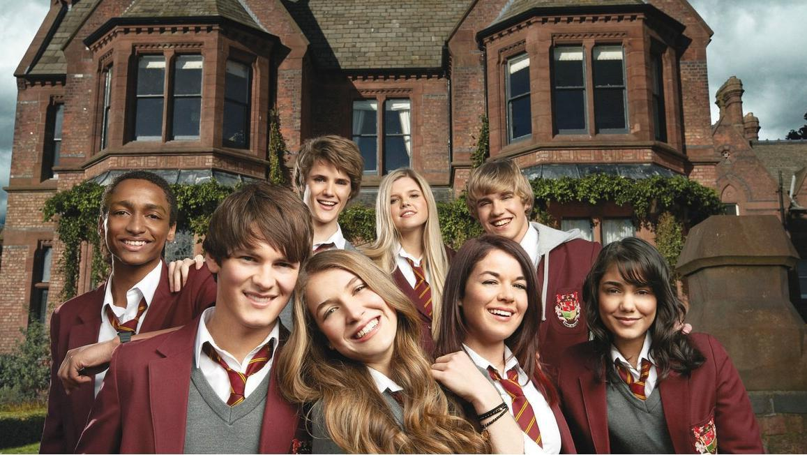 House of Anubis is a large and