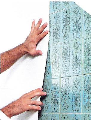 Como tapar azulejos ideas de disenos - Tapar agujeros en azulejos ...