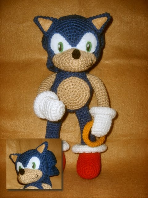 Target Sonic Toys : Wolfdreamer sonic plushie