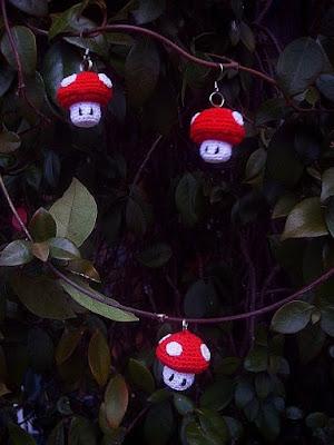 Wolfdreamer Mario Brothers Mushrooms