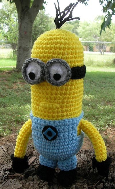 Crochet Patterns Minions : WolfDreamer: Despicable Minion