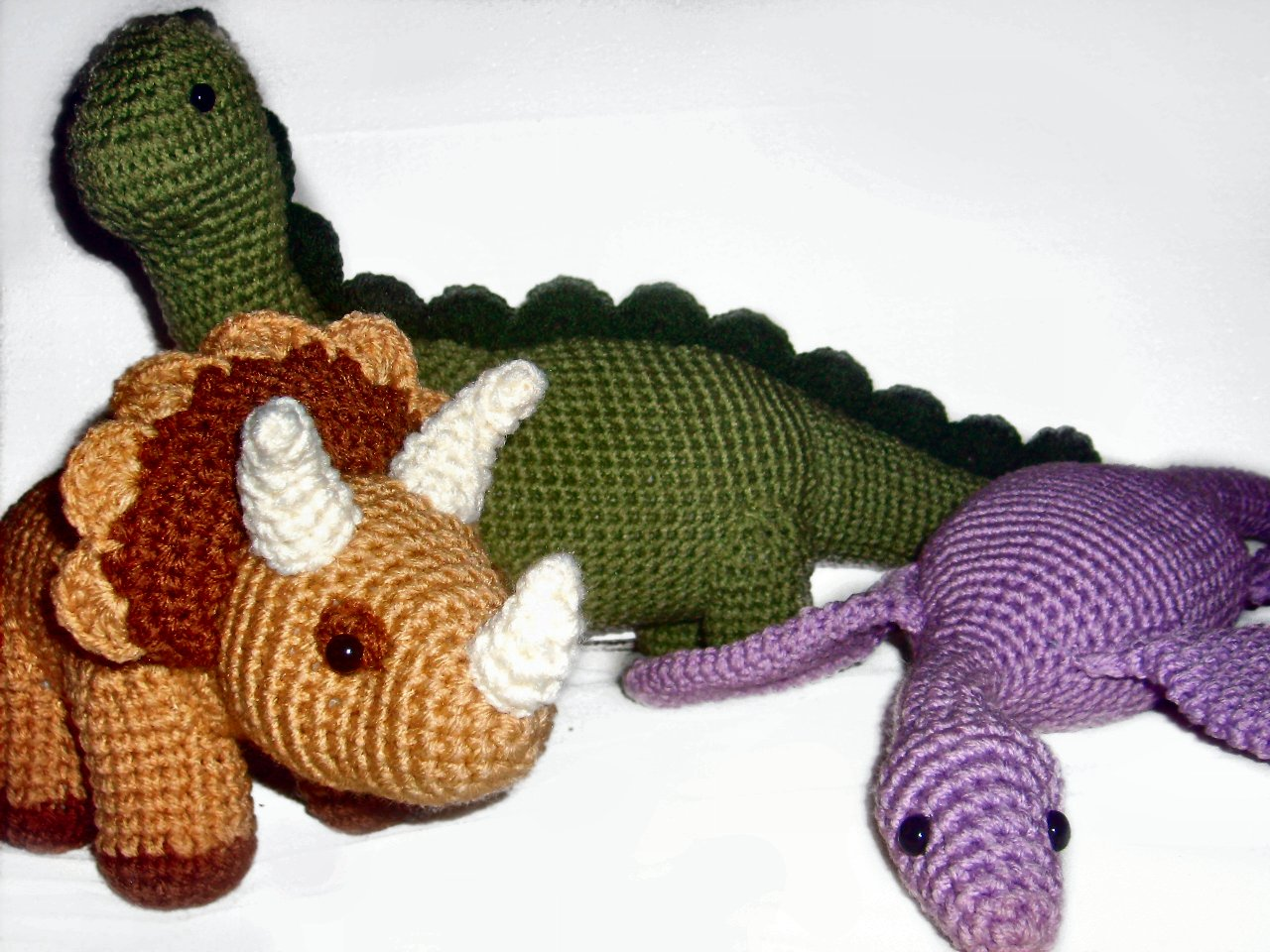 Crochet Dinosaur Related Keywords & Suggestions - Crochet Dinosaur ...
