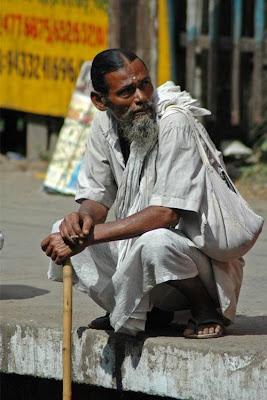 Waiting at Baghajatin railway station 2