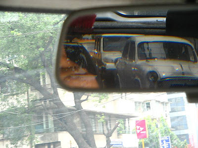 Rear view from car 2