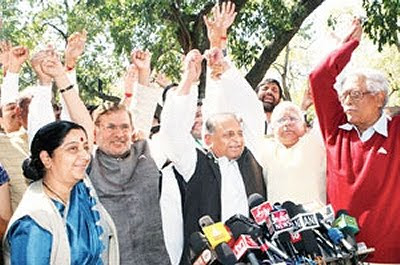 Indian opposition MPs