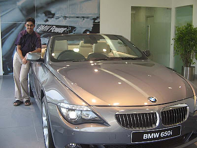 BMW showroom in Kolkata