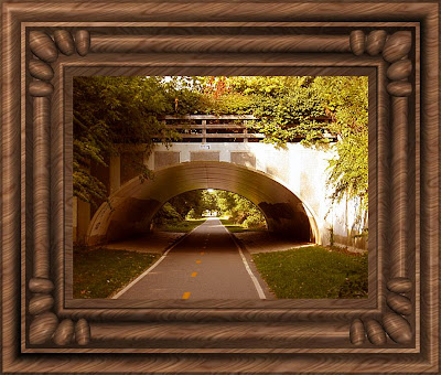 A beautiful underpass