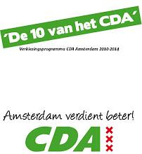 Verkiezingsprogramma CDA Amsterdam