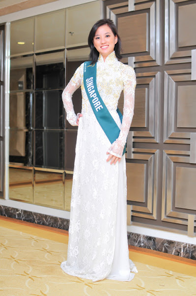 miss earth 2010 ao dai singapore maricelle rani wong
