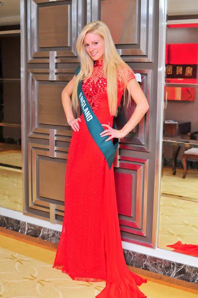 miss earth 2010 ao dai england sandra marie lees