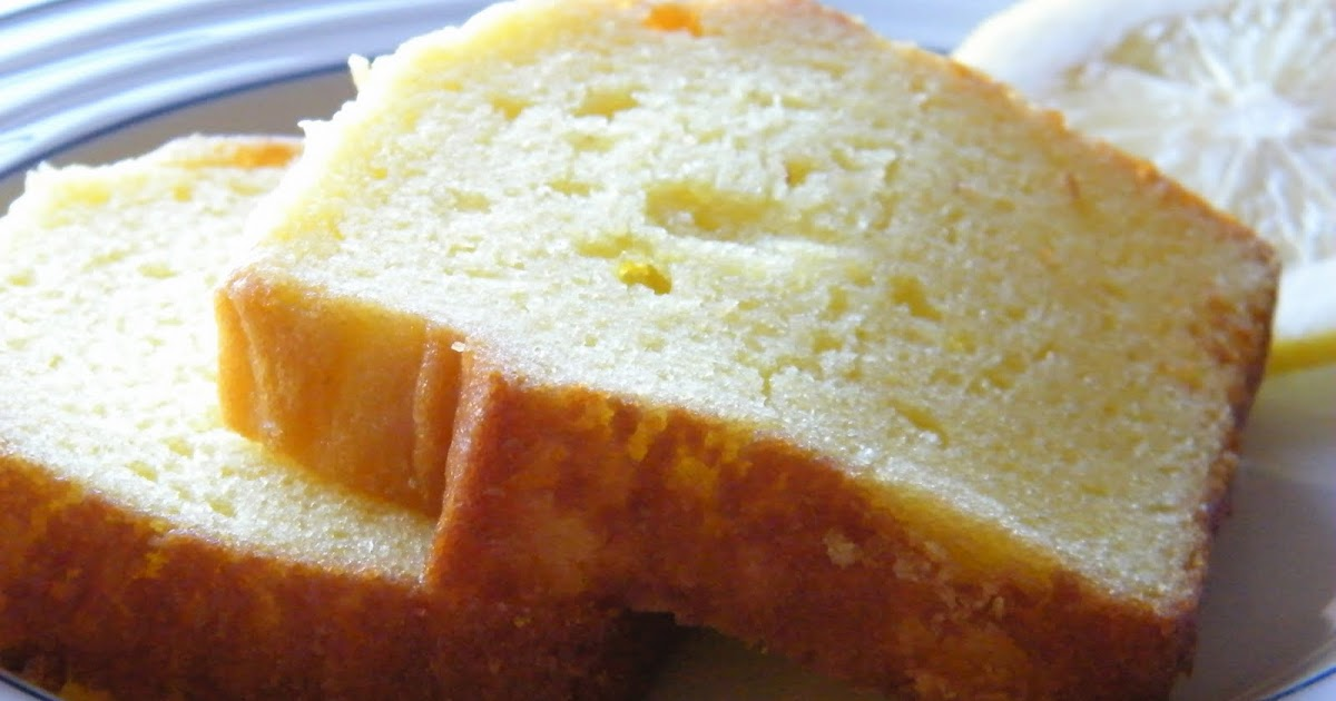 One Bowl No Mixer Lemon Loaf Cake
